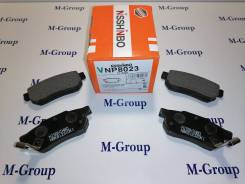 Колодки тормозные задние Nisshinbo NP8023 PF-8206 Оригинал Япония