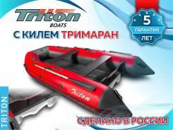 """Лодка Reef 360 Triton НД, мореходный киль """"тримаран"""", пр-во Россия"""