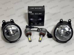 Туманки Valeo Toyota / Lexus + Светодиодные лампы H11