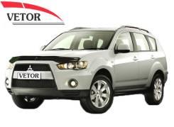 Дефлектор капота(мухобойка) Mitsubishi Outlander 2009-2012г