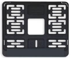 Моторамка для номера (190х145мм) Тип-4 черная