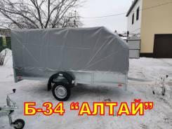Прицеп для снегохода квадроцикла грузов Б-34 Алтай 340х150