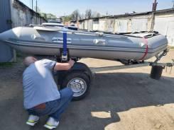 Продам лодку с прицепом и мотором
