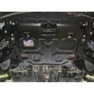 Защита картера и кпп Honda Accord CR6 гибрид 2013-> сталь