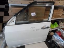 Дверь Toyota Probox левая белая перед электро