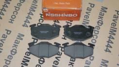 Колодки тормозные дисковые передние Nisshinbo Suzuki ALTO, Cervo, CERV