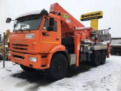 АГП КАМАЗ 43118-23027-50 (Евро-5) + Hansin HS4570G 45м. (без спалки), 2021