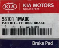 Колодки тормозные дисковые передние Hyundai-KIA 581011MA00 комплект