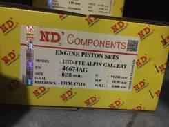 Поршни 1HD-FTE-050 46674AG Alfin Gallery 13101-17110