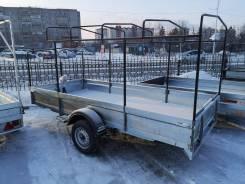 """Автомобильный прицеп """"Тайга ZN"""" 8213В5, колеса R13, тент 1,5 м."""