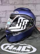 Шлем HJC F70 Semi Flat Metallic Blue