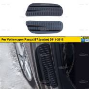 Накладки на внутренние части задних арок VW Passat B7 2011-2015