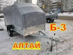 Прицеп легковой для снегохода квадрика грузов Б-3 Алтай 300х150