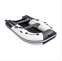 """Лодка Ривьера Компакт 2900 НДНД """"Комби""""светло-серый/черный"""