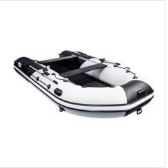 """Лодка ривьера максима 3800 ск """"комби"""" светло-серый/черный"""