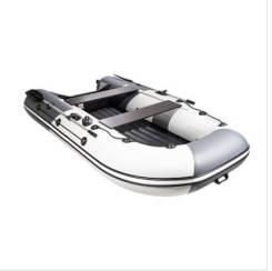 """Лодка ривьера 3200 нднд гидролыжа """"комби"""" светло-серый/графит"""