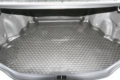 Коврик в багажник Toyota Camry, 2011-н. в. полиуретан с бортом
