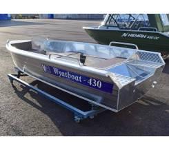 Лодка алюминиевая Wyatboat-430Р