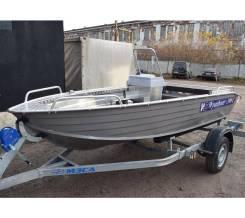 Лодка алюминиевая Wyatboat-390C