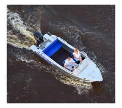 Лодка алюминиевая Wyatboat-490 Pro водомет