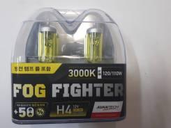 Лампа галогеновая H4 12V60/55W 3000K Комплект-2ШТ. Замена!