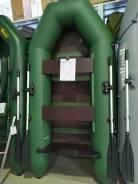 Надувная лодка ПВХ «Аква 2600» зелёная