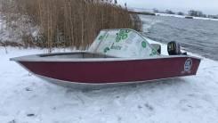 Продам Алюминиевая моторная лодка «Триера 390»