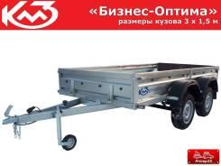 """Прицеп """"Бизнес-Оптима"""" кузов 3х1,5 м (без каркаса дуг и тента)"""