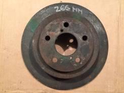 Диск тормозной задний 266 мм