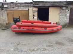 Лодка с мотор