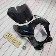 Обтекатель ветровое стекло Honda CB400 черный