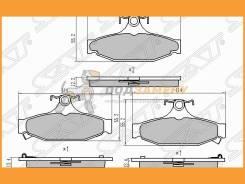 Колодки тормозные ST48413050A0 SAT ST48413050A0
