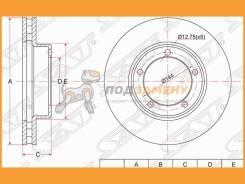 Диск тормозной передний SAT / ST4351260170