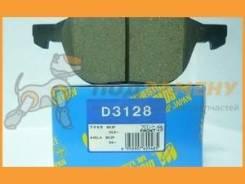 Колодки тормозные дисковые D3128 Kashiyama / D3128