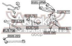 Тяга Подвески | Зад Прав/Лев | ASVA арт. 0125730