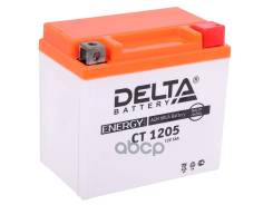 Аккумулятор Delta Battery Agm 5 А/Ч Обратная R+ 114x70x106 En80 А Delta battery арт. CT 1205 Delta battery CT1205