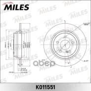 Диск Тормозной Mercedes W220 2.8-3.5 98-05 Задний D300мм. (Trw Df4436) K011551 Miles арт. K011551