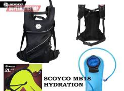 Рюкзак Scoyco MB18 с гидратором 2L черный