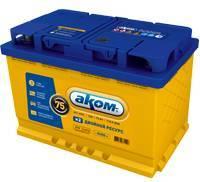 Аккумулятор АКОМ EFB 75 Ач (ОП)