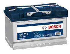 Аккумулятор Bosch S5 80 Ач низкий О. П.
