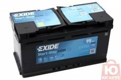 Аккумулятор Exide Micro-Hybrid EK950 95 Ач с технологией AGM
