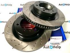 Диски тормозные перед перфорированные Avantech BR0260S | BR0261S