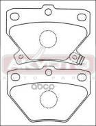 Колодки Тормозные Дисковые Задние ASVA арт. AKD-1134 Akd1134 Asva