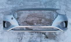 Бампер передний Hyundai Solaris HCR (02.2017 - 08.2020)
