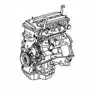 Двигатель Контрактный Toyota 2,0L 1AZ-FSE '00-'05