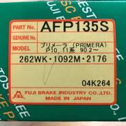 Колодки тормозные дисковые передние FBL AFP-135S комплект
