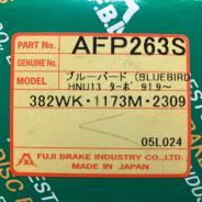 Колодки тормозные дисковые передние FBL AFP-263S комплект
