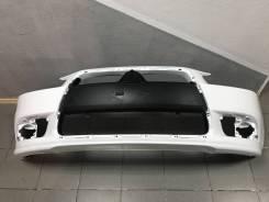 Бампер передний Mitsubishi Lancer X рестайлинг белый