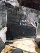 Стекло двери задней левой (форточка) Skoda Superb (3U) I (2001–2006)
