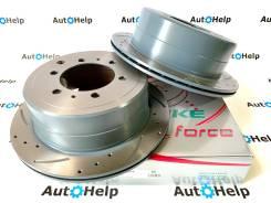 Диски тормозные задние перфорированные G-brake GFR-02245L | GFR-02245R